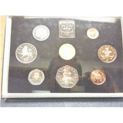 1983 UNITED KINGDOM PROOF SET