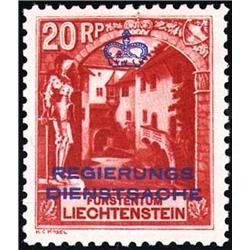 Liechtenstein   1932, Official, Perf 10 1/2,