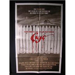 Cujo (1983) Signed Poster