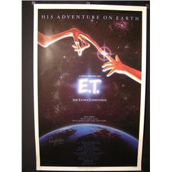 E.T. Signed Poster