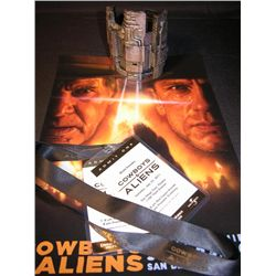 Cowboys Vs. Aliens Promo Items