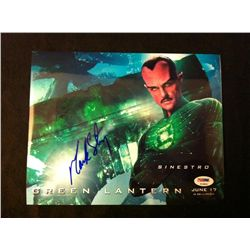 Green Lantern Photo Signed by Mark Strong