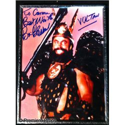 Flash Gordon (1980) Brian Blessed Autographed Photo