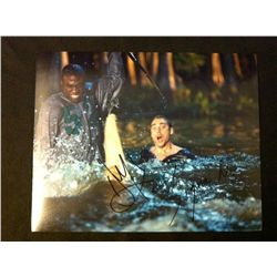 Shark Night 3D Photo Signed By Dustin Milligan and Singua Walls