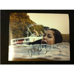 Shark Night 3D Photo Signed by Alyssa Diaz