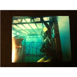 Shark Night 3D Photo Signed by Sara Paxton