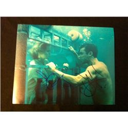 Shark Night 3D Photo Signed by Sara Paxton and Dustin Milligan