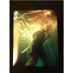 Shark Night 3D Photo Signed By Dustin Milligan