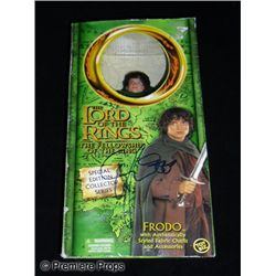 Elija Wood Autographed Lord of the Rings: The Fellowship of the Ring Doll