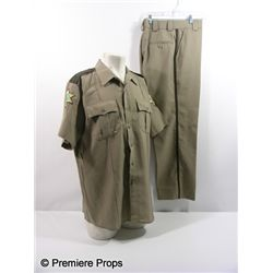 Scre4m Sheriff Dewey Riley (David Arquette) Uniform Movie Costumes