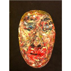 Kevin Kline Hand Painted Mask
