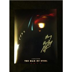 Superman, the Man of Steel Photo Signed by Henry Cavill