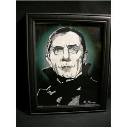 Bela Lugosi Mixed Media Portrait