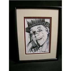 Lon Chaney Framed Mixed Media Image