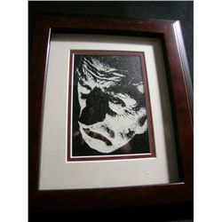 Ernest Thesiger Framed Digital Scratchboard Image