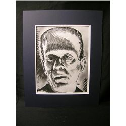 Frankenstein Monster Drawing