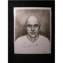 Anthony Hopkins Signed Drawing