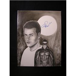 Chris O'Donnell Signed Drawing