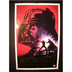 Return of the Jedi Poster Signed by Drew Struzan