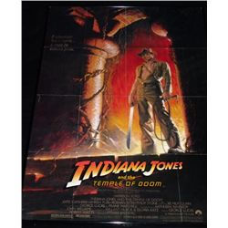 Indiana Jones Temple of Doom (1984) Poster