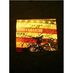 Sons of Anarchy Signed Cast Photo