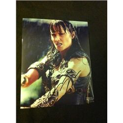 Xena, Warrior Princess Photo Signed by Lucy Lawless