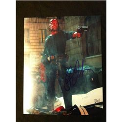 Hellboy Photo Signed by Ron Perlman