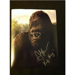 King Kong Photo Signed by Andy Serkis