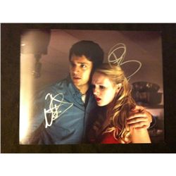 Final Destination 5 Photo Signed by Emma Bell and Nicholas D'Agosta