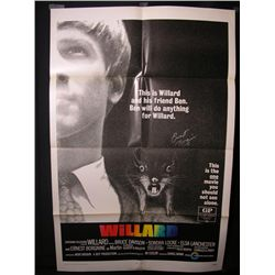 Williard Signed Poster