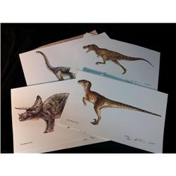 Jurassic Park (1993) Lithographic Prints
