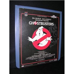 Ghostbusters Autographed Original Cideo Disc