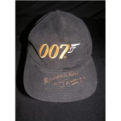 The Spy Who Loved Me Autographed Baseball Cap