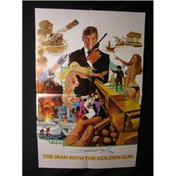 The Man with the Golden Gun (1974) Signed Poster/Program