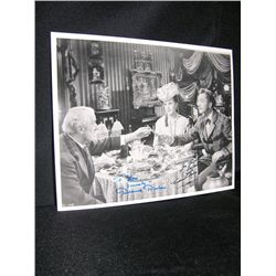Deanna Durbin and Vincent Price Signed Photo