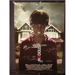 Insidious Signed Poster