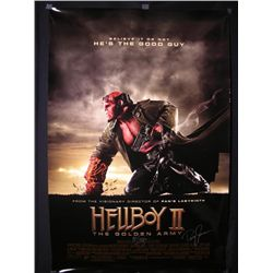 Hellboy II Signed Poster