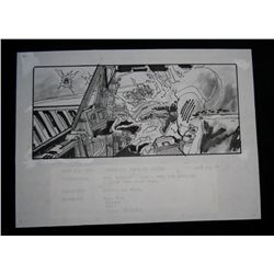 Star Wars: The Empire Strikes Back (1980) Original Storyboard