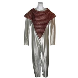 Gold and White Outer Space Costume