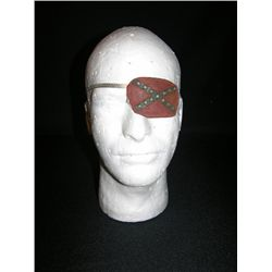 Robert Englund Screen Used Eyepatch from 2001 Maniacs