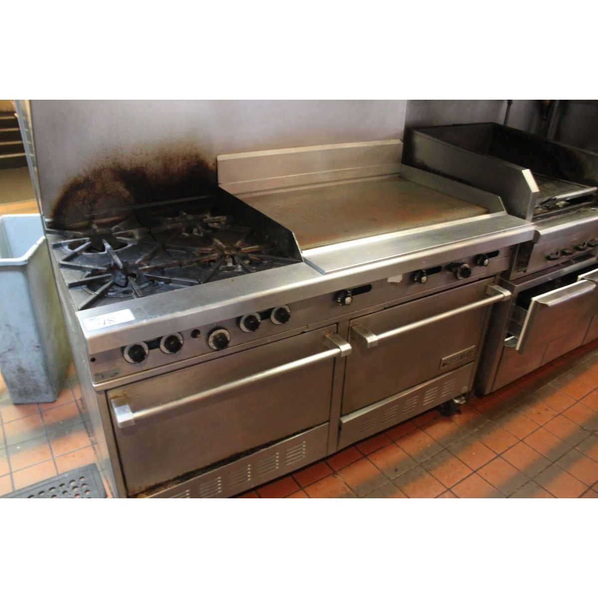 Gas Stove With Griddle ~ Garland burner gas stove with griddle and