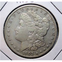1903S Morgan $  VF/XF