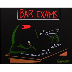 Godard,Michael: BAR EXAM: Size: 16x20, Edition: Brush Stoke on Canvas.