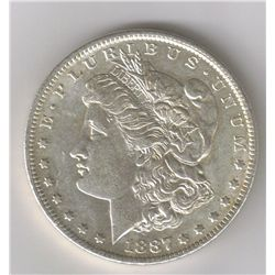 1887-O Morgan Dollar,BU/MS+