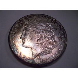 1899-S Morgan Silver Dollar, MS-64
