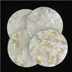 Mother of Pearl Coaster Set (DEC-333)