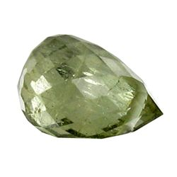 1.44ct Fancy Color Tourmaline Briolette (GEM-25564)