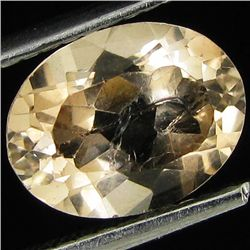 2ct Natural Imperial Topaz Oval (GEM-29810B)