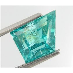 3.22ct Blue Green Neon Apatite Copper Bearing (GEM-28561D)