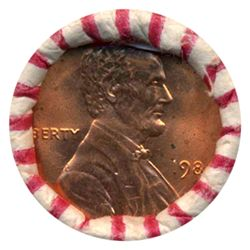 1984 Lincoln Cent RARE Never Opened BU Roll (COI-5528)